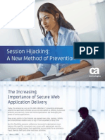 How CA Siteminder Helps Prevent Session Hijacking 56761