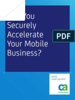 Can You Securely Accelerate Your Mobile Business 35809