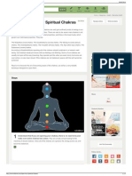 How to Open Your Spiritual Chakras 8 Steps (With Pictures)