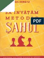 Stere Sah Istoria Sahului-1951-Metodic