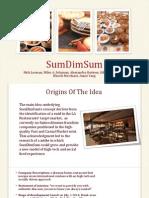 SumDimSum Business Plan