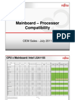 Fujitsu Siemens Motherboard-CPU Compatibility