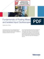 Fundamentals of Floating Measurements and Isolated Input Osciiloscopes