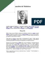 Anacleto Augusto de Medeiros