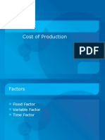 Chp 6 Cost of Production