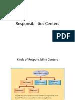 Responsibilities Centers