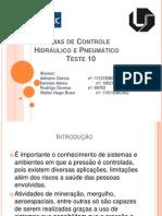 Sistemas de controle hidráulico e pneumático - T10