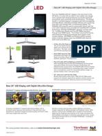 VX2460h-LED Datasheet Europe English