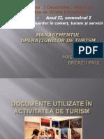 Documente Utilizate in Turism