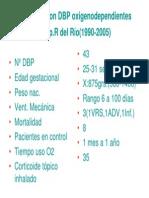 Pacientes Con DBP Oxigenodependientes 1