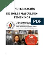 Caracterización de roles masculinos y femeninos