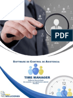 Time Manager software