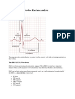 Introduction to Cardiac Rhythm Analysis