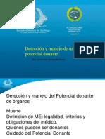 18 - Detección y Manejo Del Potencial Donante