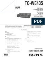 Sony_TC-WE435 Service Manual