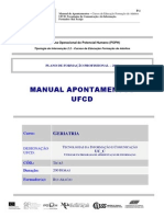 MANUAL APONTAMENTOS UFCD