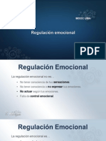 Regulación y Autoestima