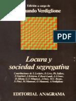 locura y sociedad segregativa - leclaire mannoni guattari et al