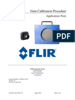 FLIR Gain Calibration Note
