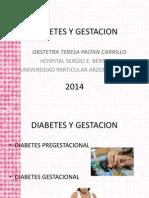 Diabetes y Gestacion