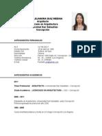 (94732773) Curriculum Paola Diaz Medina 2011
