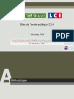 OpinionWay Pour CLAI _Metro_LCI-Questions d'Actualite-Dec2014