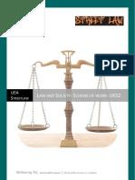 UEA Streetlaw Scheme of Work