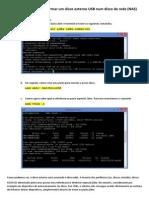 Raspberry Pi - Transformar Um Disco Externo USB Num Disco de Rede