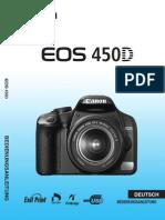 Kamera 450D Anleitung
