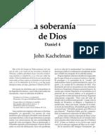 John Kachelman, La Soberania de Dios