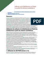 Distribucion en Planta Con Software