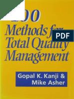 100 Metodos de Qualidade Total