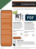 Sublimation Printers