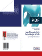 Large Deformation Finite Analysis of Shell