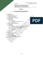 Tema 1 Matemáticas secundaria