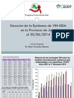 Estadisticas Vih-sida Jujuy 2014