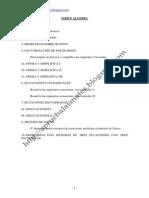 1ºbachilleratoEcuaciones,Inecuaciones,Ruffini,MétododeGauss