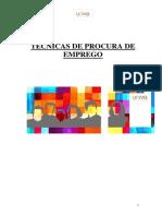 Manual de Tecnicas de Procura de Emprego