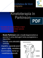 Kinetoterapia in Parkinson