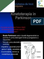Kinetoterapia in Parkinson