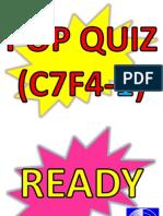 POP QUIZ C8F4-1