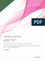 Manual Led Tv 19MT43D