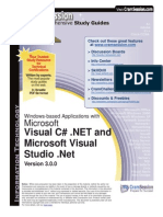 Microsoft Visual c #. net