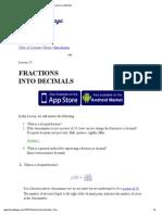 FRACTIONS INTO DECIMALS.pdf