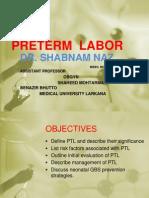 preterm labor.ppt