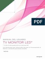 manual led  tv 19MT43D spanish