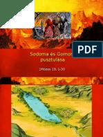 Sodoma és Gomora pusztulása A