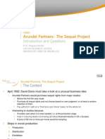 Arundel Partners - Intro and Questions (With Notes)