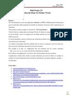 Mini Projet c Recherche Dans Un Fichier Word