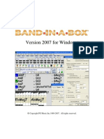 Band in a Box 2007 Manual